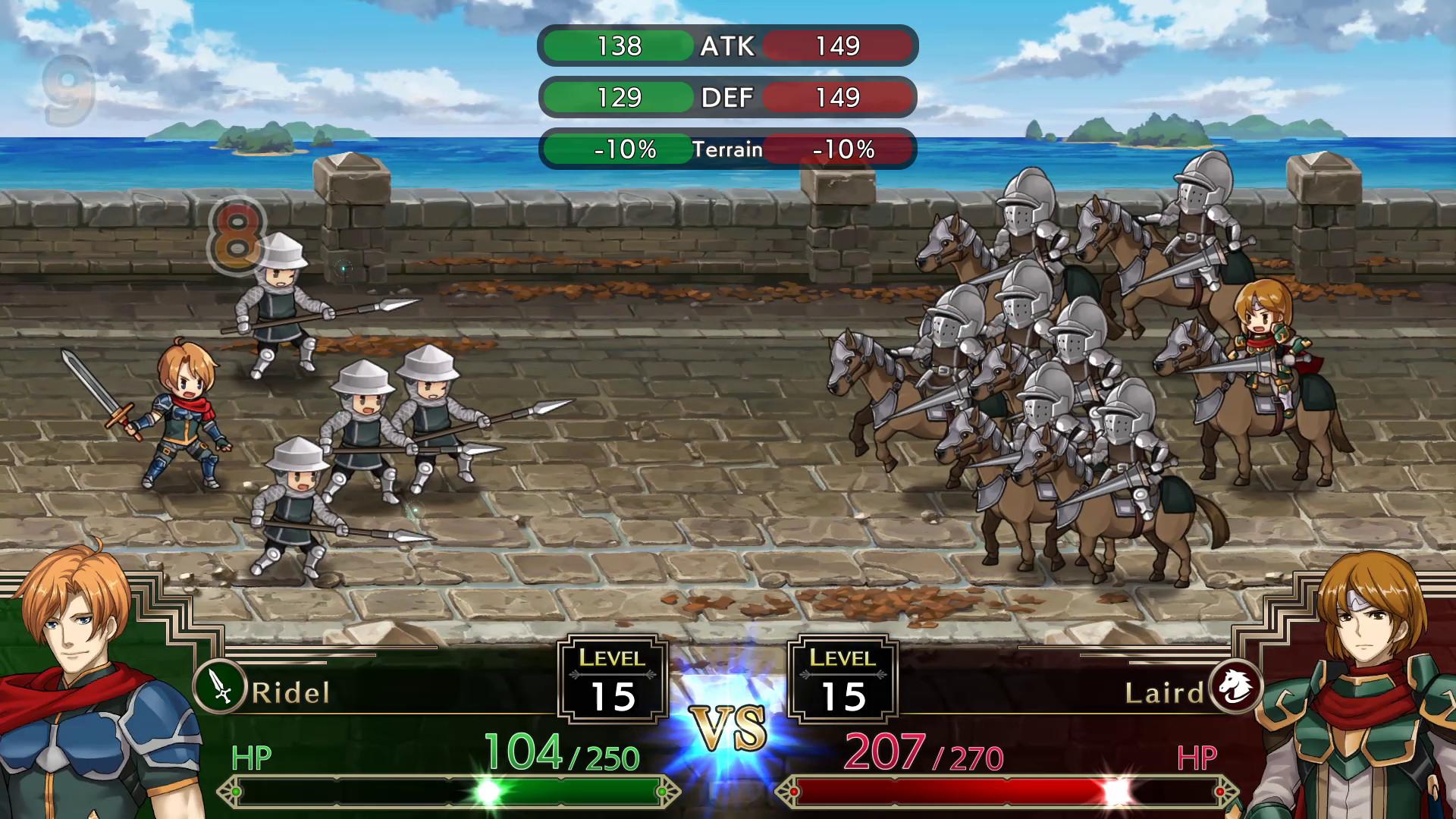 梦幻模拟战1+2 完整重置版   官方繁体中文   支持键盘、鼠标、手柄-开心电玩屋