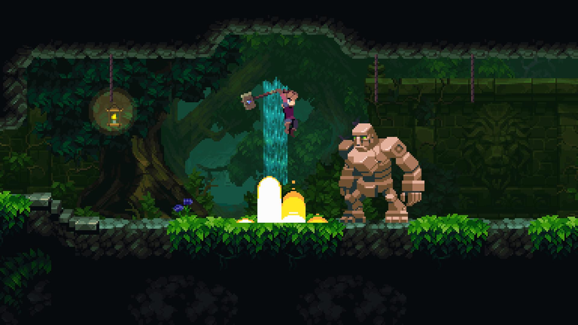 深渊矿坑 Chasm 1.077b Mac 破解版 横版动作冒险游戏