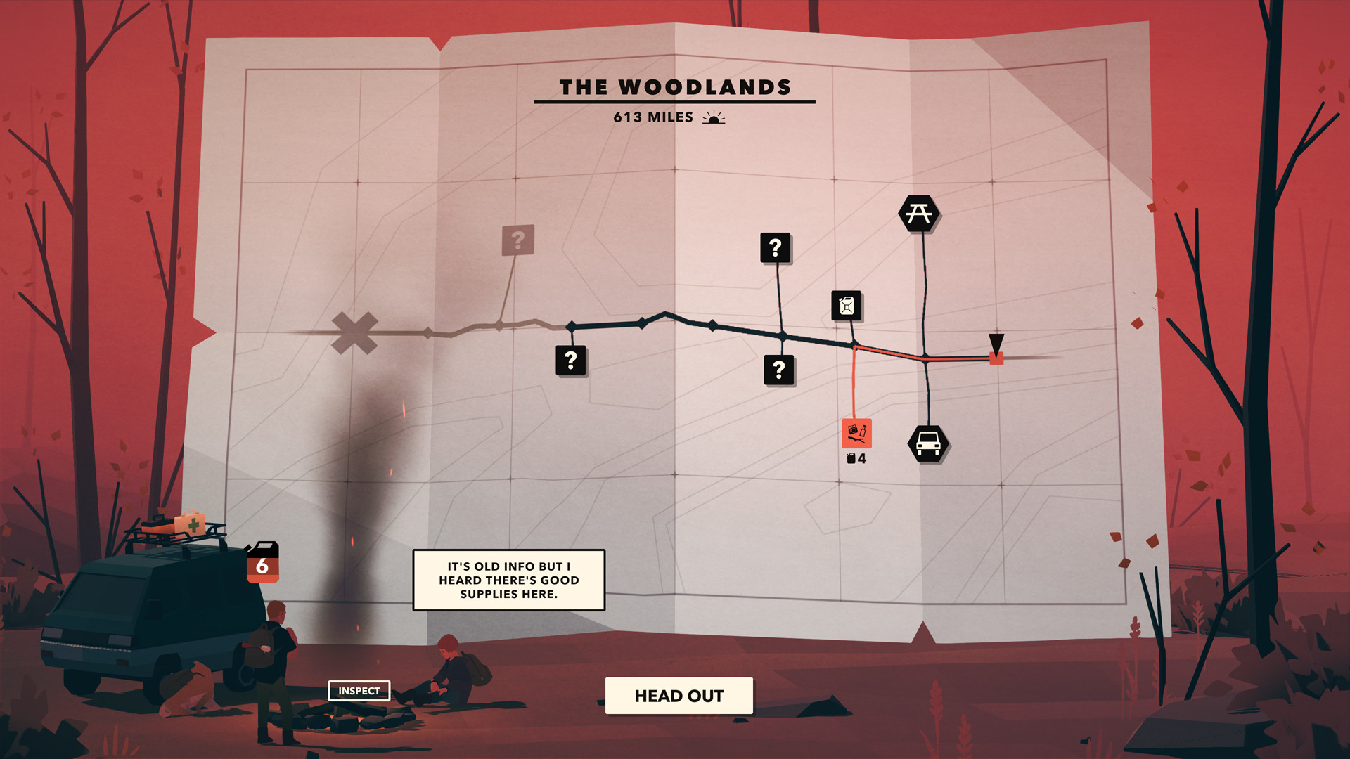 末日之旅 Overland 849 Mac 中文破解版 风格独特的策略生存类游戏