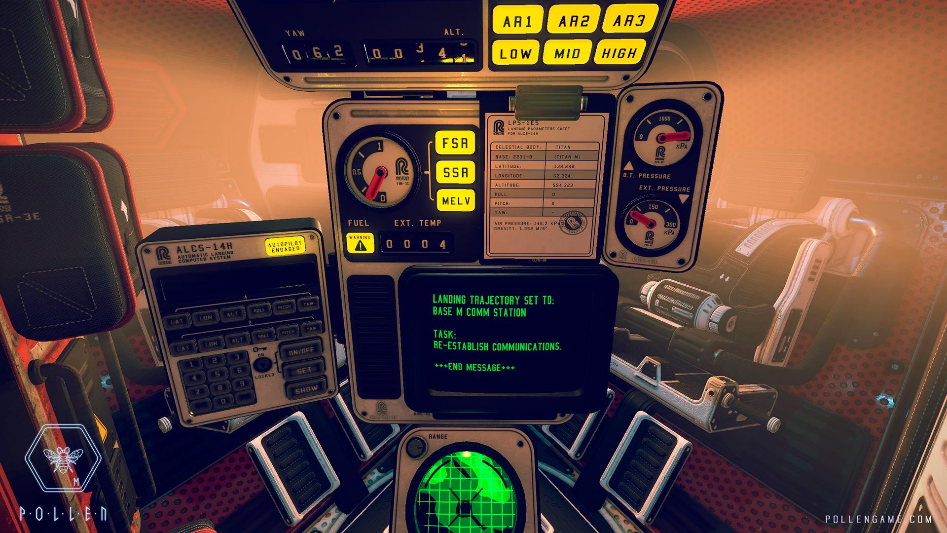 真实体验太空探索 VR游戏《Pollen》-古风游戏资源网