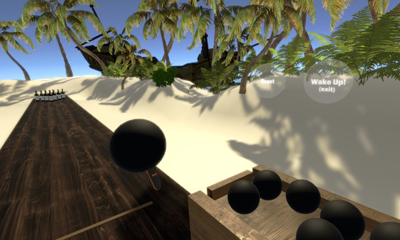 沙滩梦幻保龄球(Beach Bowling Dream VR)