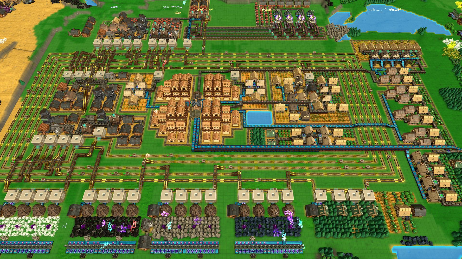 工业小镇 v0.166a 容量245GB 官方简体中文 支持键盘.鼠标-开心电玩屋